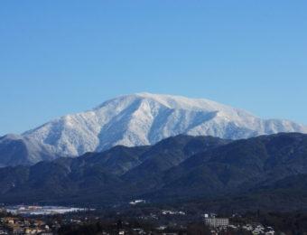 恵那山の遠景