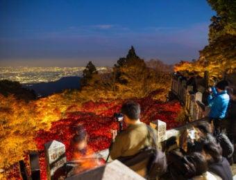 大山寺からの風景