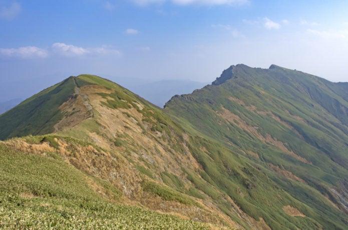 谷川岳と一ノ倉岳