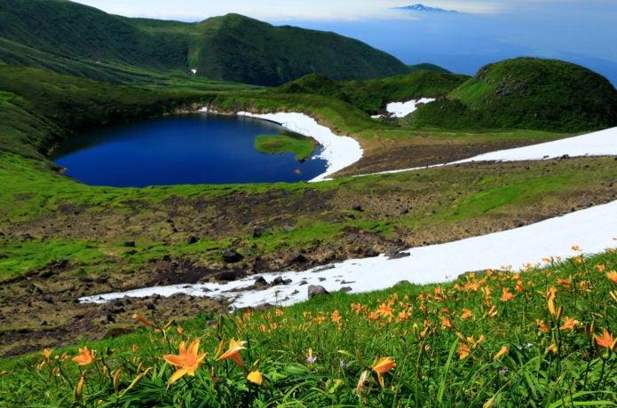 鳥海山の御浜周辺の写真