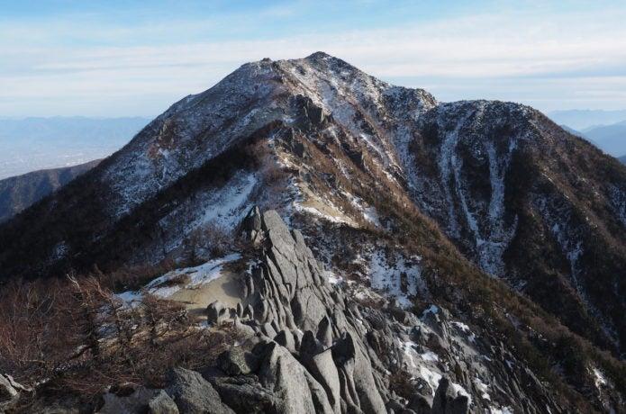南アルプスの鳳凰山