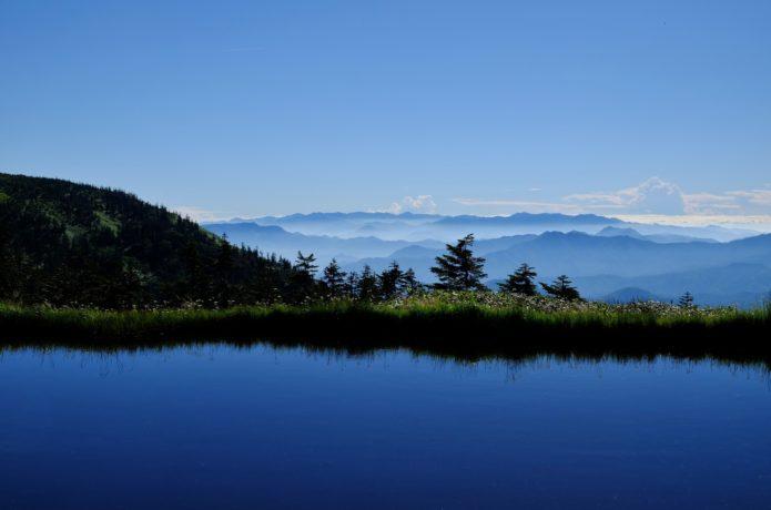 会津駒ケ岳周辺の池塘