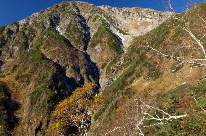 南アルプスの赤石岳