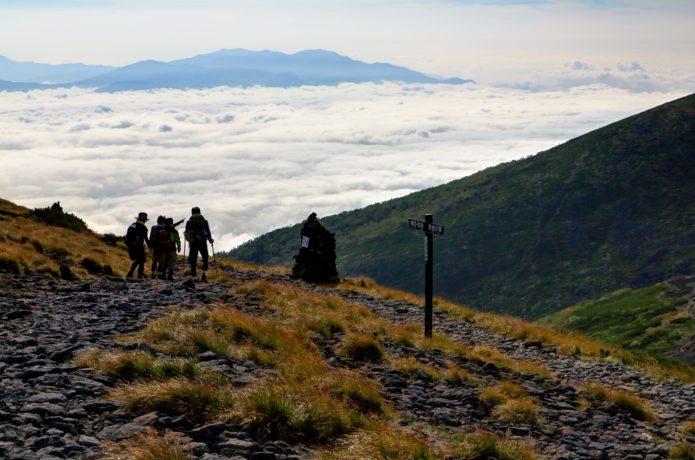 初秋の八ヶ岳での登山講習会