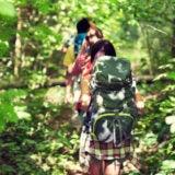 登山講習会に参加する人