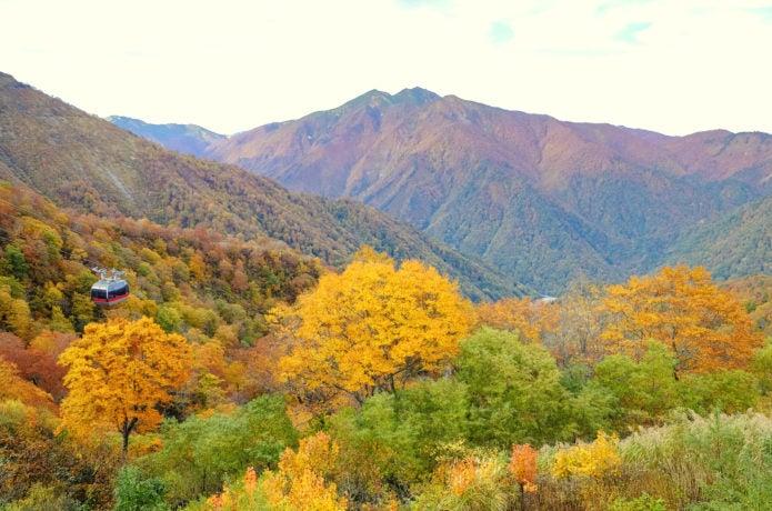 谷川岳ロープウェイ 朝日連山