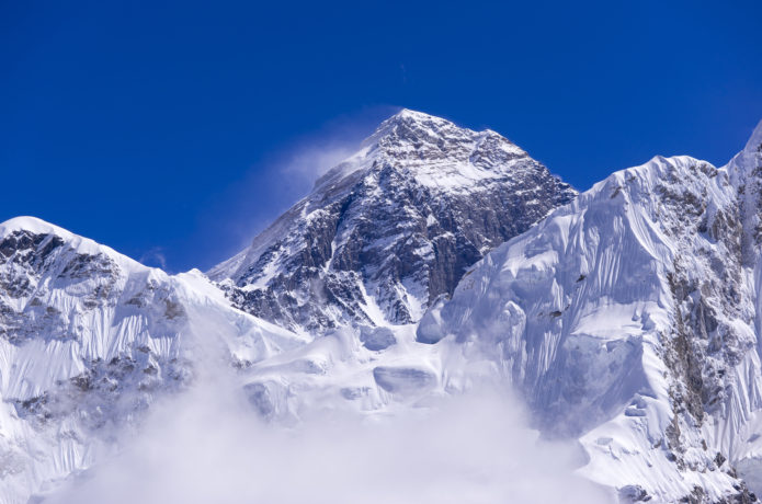 高山病になりやすいエベレスト