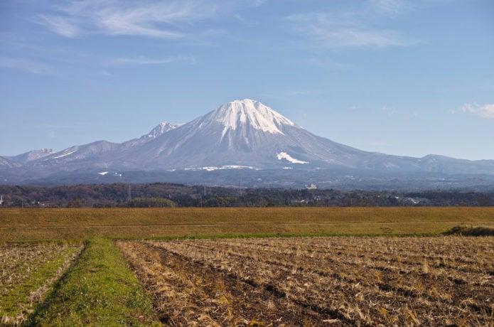 鳥取の大山