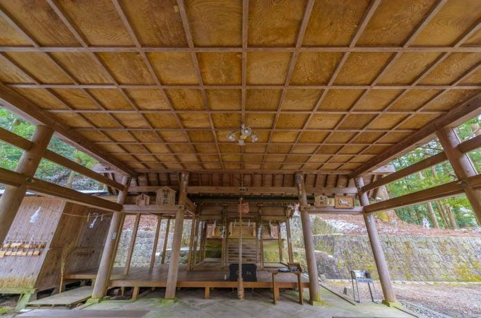 恵那山山頂神社