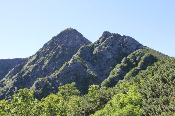 南アルプスの塩見岳