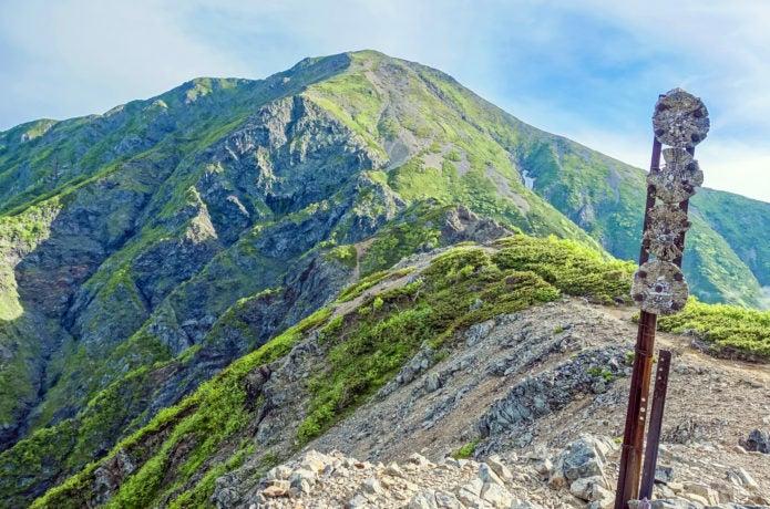南アルプスの聖岳