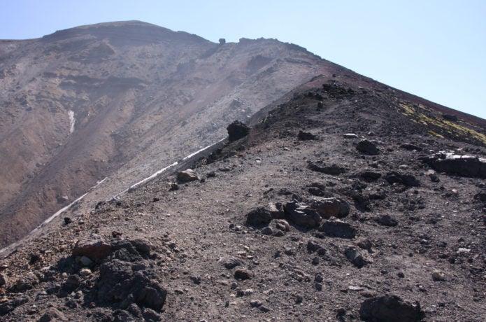 大雪山 旭岳 岩