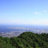 六甲山からの眺め