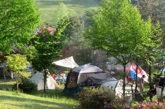 山口キャンプ場