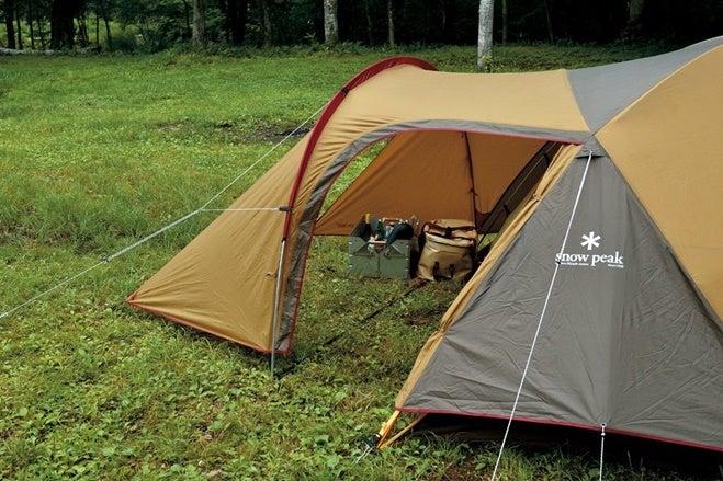 初心者におすすめのスノーピークのテント