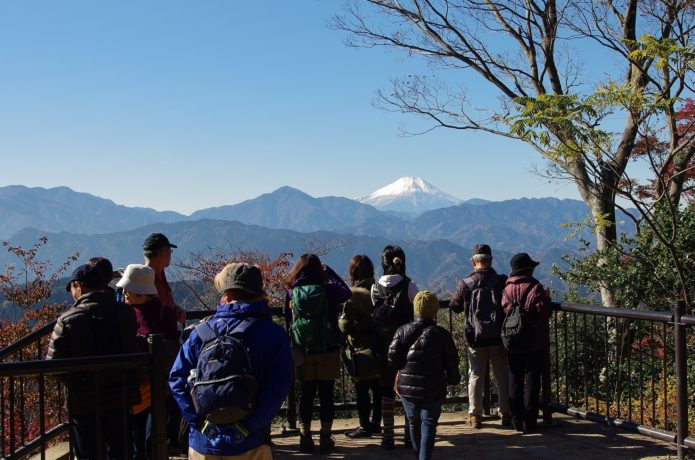 冬の高尾山