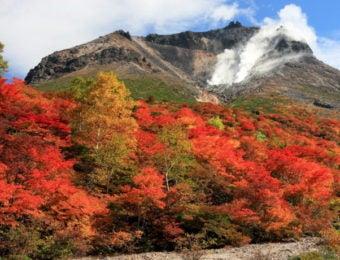 紅葉の那須岳・茶臼岳