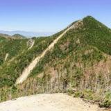 甲武信ヶ岳の景色