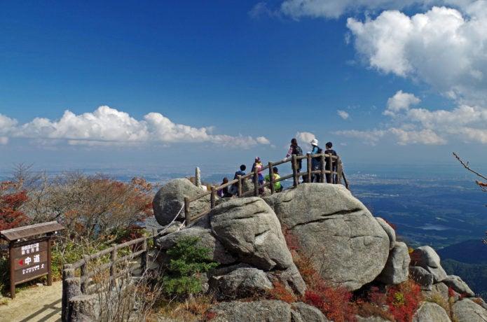 御在所岳 富士見展望台